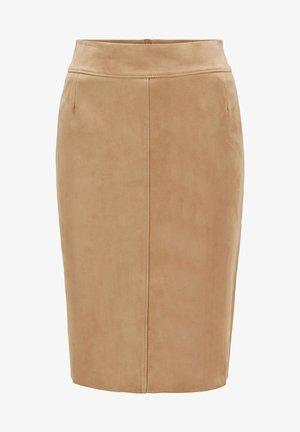 SELRITA - Pencil skirt - beige