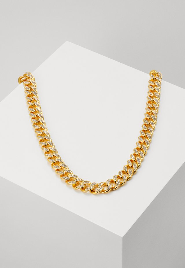 STONE CHAIN - Collier - gold-coloured