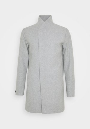 JJECOLLUM COAT  - Klassischer Mantel - light grey melange