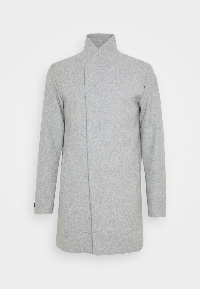 JJECOLLUM COAT  - Classic coat - light grey melange