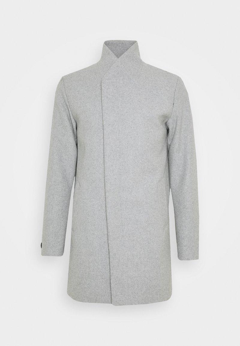 Jack & Jones - JJECOLLUM COAT  - Classic coat - light grey melange