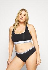 Calvin Klein Underwear - CAROUSEL PLUS SIZE 3 PACK - Briefs - black/white/grey heather - 0