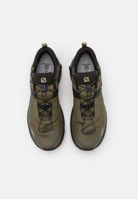 Salomon - X RAISE GTX - Chaussures de marche - grape leaf/black - 3