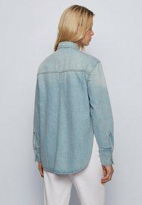 BOSS - Button-down blouse - blue - 2