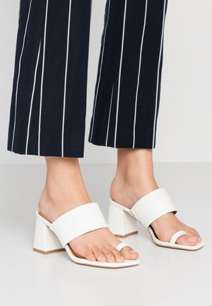 JAYDEY - T-bar sandals - white