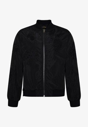 DRAG-CLOUD NYLON BOMBER JACKET - Summer jacket - black