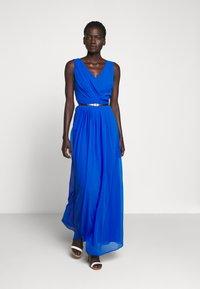 Lauren Ralph Lauren - GRACEFUL LONG GOWN - Vestido de fiesta - portuguese blue - 0