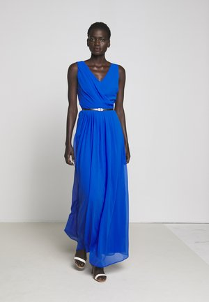 GRACEFUL LONG GOWN - Galajurk - portuguese blue