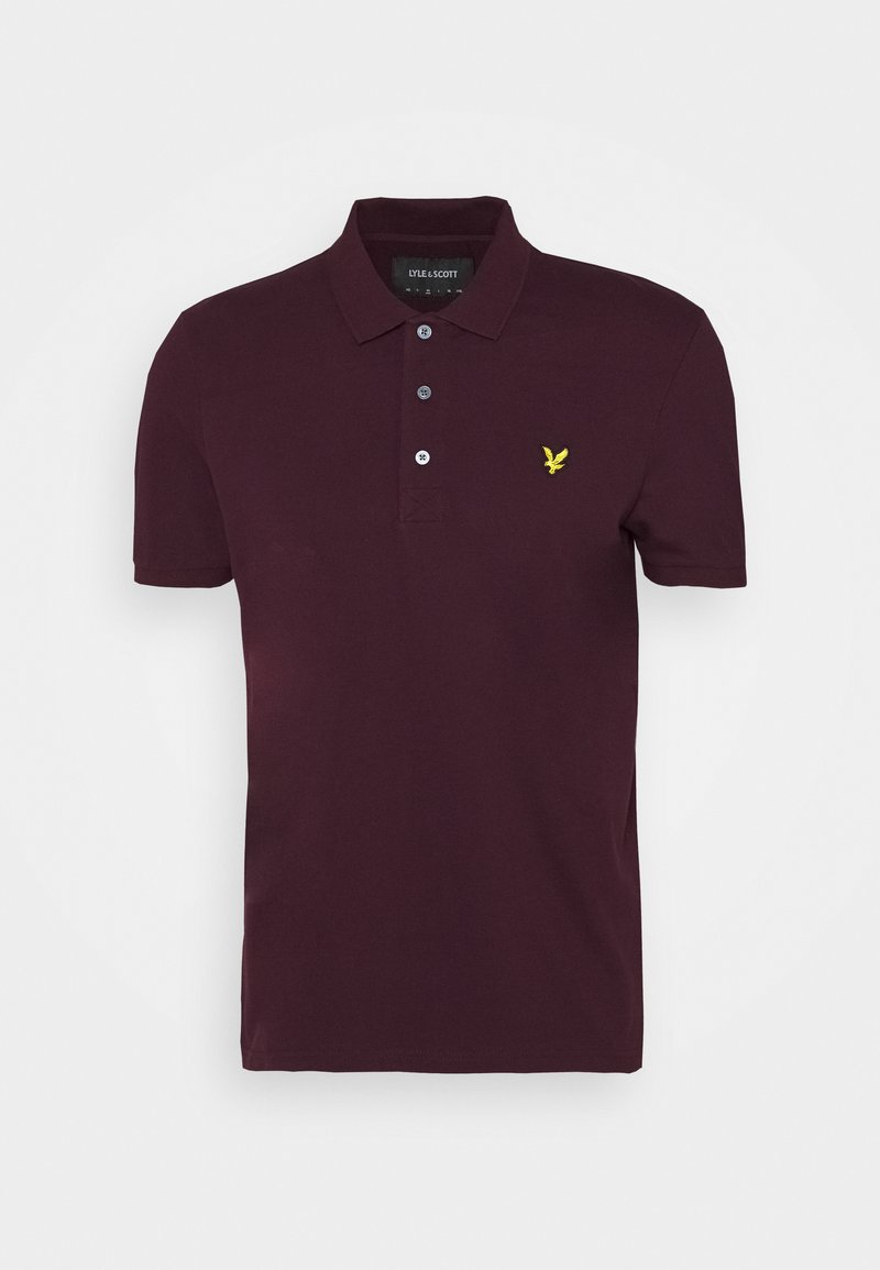 Lyle & Scott - Piké - burgundy