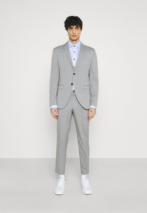 SLHSLIM MYLOLOGAN CROP SUIT - Suit - light grey melange