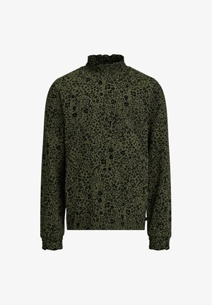 MET BLOEMENDESSIN - Long sleeved top - army green