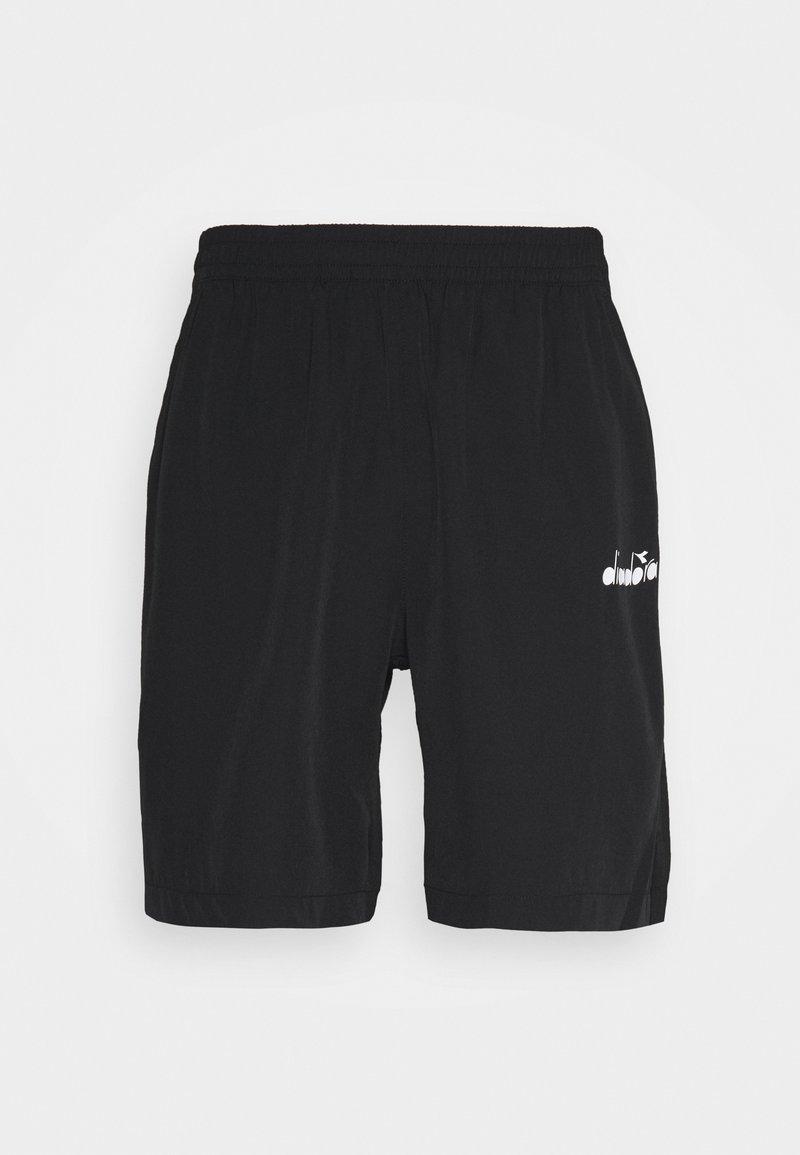 Diadora - BERMUDA EASY TENNIS - Pantalón corto de deporte - black