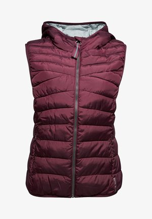 MIT THINSULATE™-FÜLLUNG - Waistcoat - bordeaux red