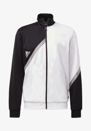 TAN CLUB - Veste de survêtement - white/black