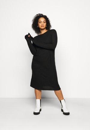 GANGE - Jumper dress - black