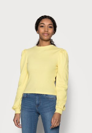 PCNANNA - Long sleeved top - dusky citron