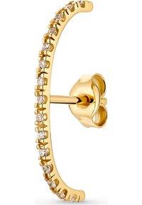 QOOQI - EINZELNER  - Earrings - gold - 2