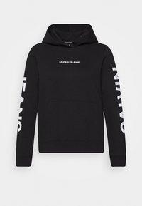 Calvin Klein Jeans - HOODIE - Hoodie - black - 4
