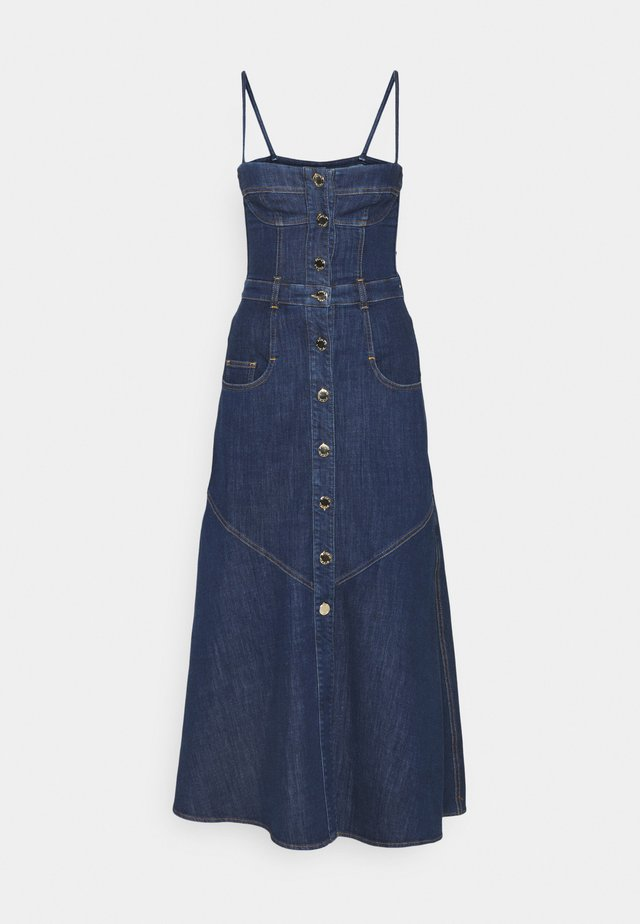 POPPY ABITO - Denimové šaty - blue