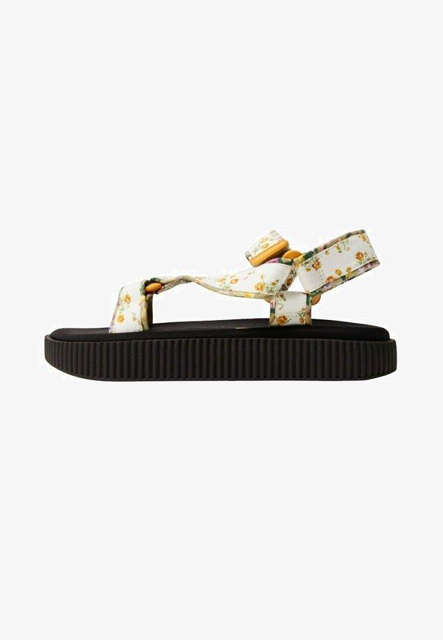 GARDEN - Sandals - amarillo