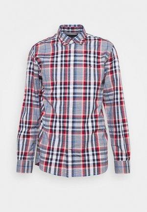 MIDSCALE CHECK - Overhemd - arizona red/yale navy