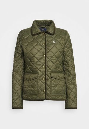 BARN JACKET - Lehká bunda - expedition olive