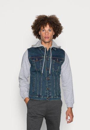 JACKET - Denim jacket - blue