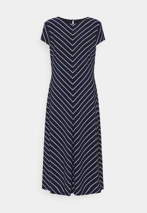 PIPPA CAP SLEEVE DAY DRESS - Košilové šaty - lighthouse navy