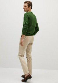Mango - DUBLIN7 - Trousers - beige - 1