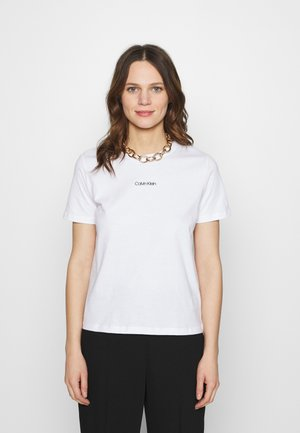 REGULAR MINI TEE - Basic T-shirt - white