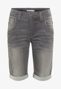 Name it - Denim shorts - medium grey denim - 0