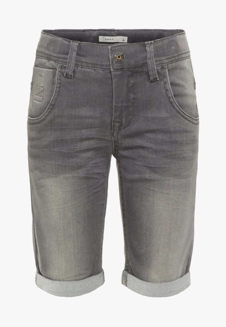Name it - Denim shorts - medium grey denim