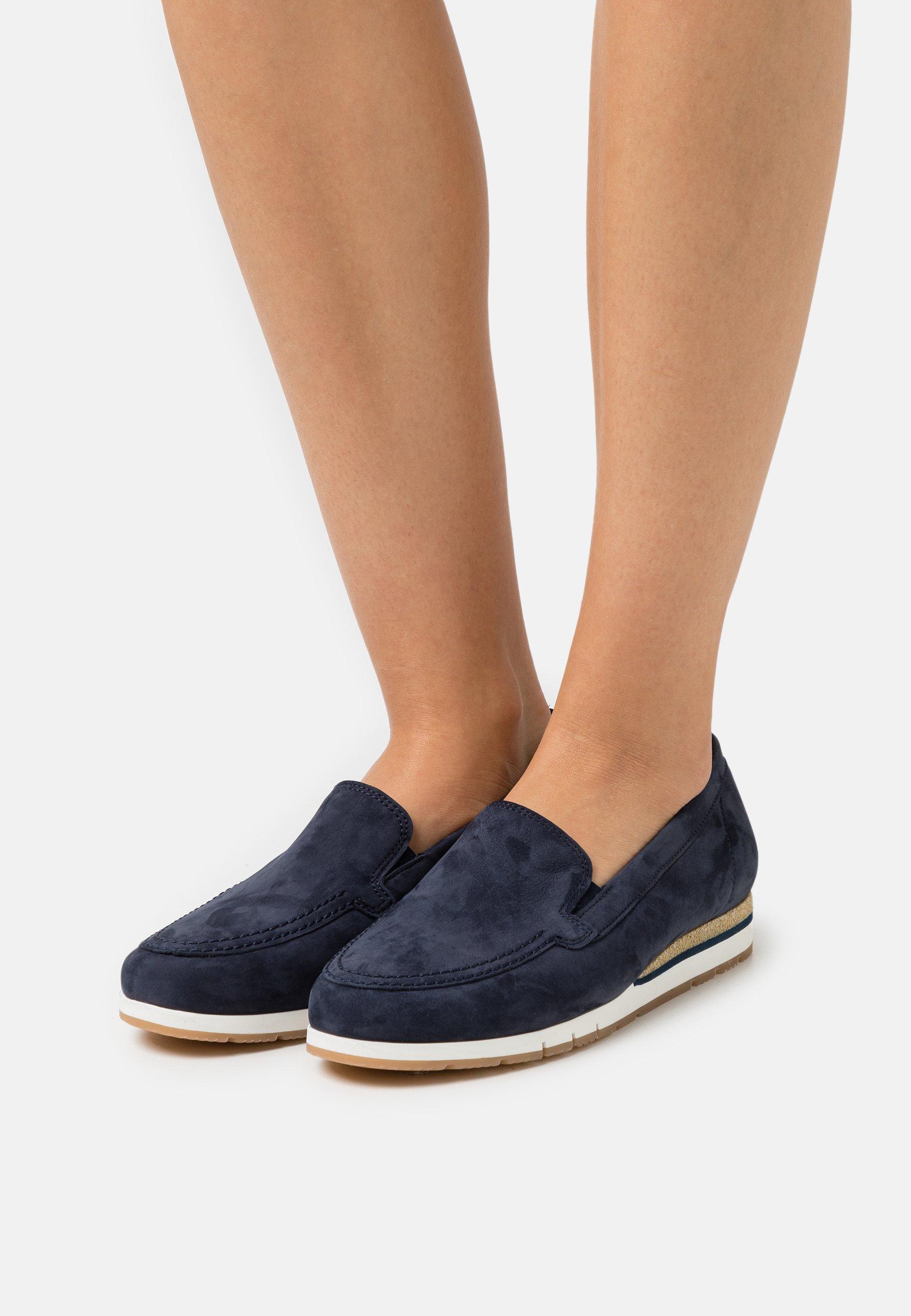 Women Slip-ons - blue
