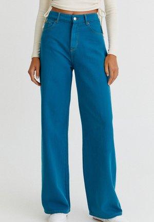 BUNTE  - Flared jeans - blue