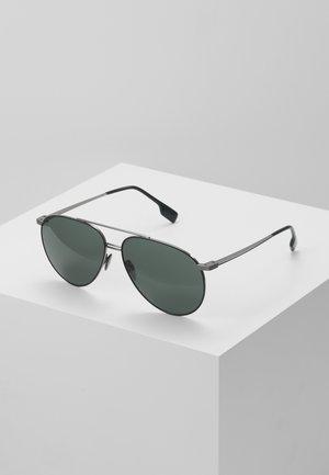Solbriller - gunmetal/matte green