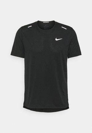 RISE - Camiseta estampada - black
