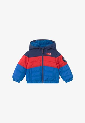 COLOR BLOCK PUFFER - Vinterjakker - prince blue
