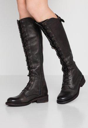 HARDY - Šněrovací vysoké boty - targoff