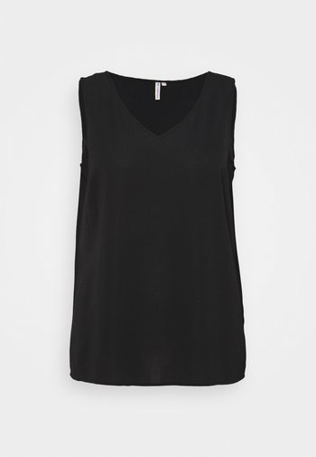 CARLUXINA SOLID - Bluser - black