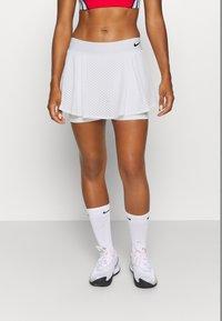 Nike Performance - DRY SKIRT - Sportovní sukně - white/black - 0