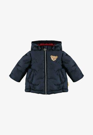 MIT NIEDLICHEN PUNKTEN - Winter jacket - steiff navy