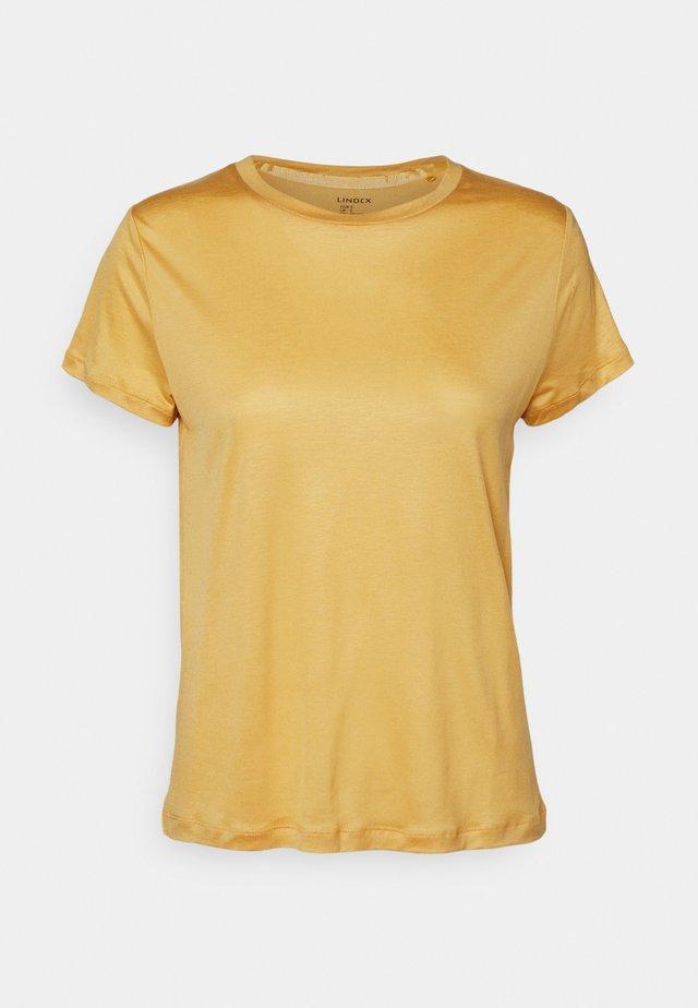 TOM - Jednoduché triko - light dusty yellow