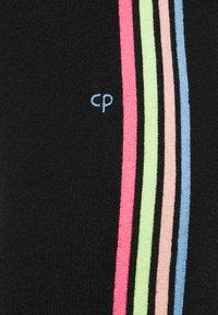 CHINTI & PARKER - STRIPE LEG TRACK PANTS - Tracksuit bottoms - black/multi - 4