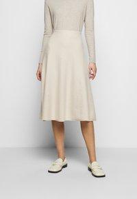 WEEKEND MaxMara - CACHI - Áčková sukně - elfenbein - 0