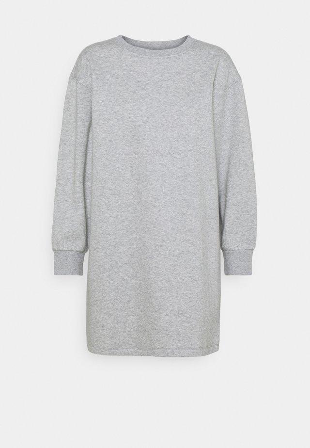 PCCHILLI LONG - Sweatshirt - light grey melange