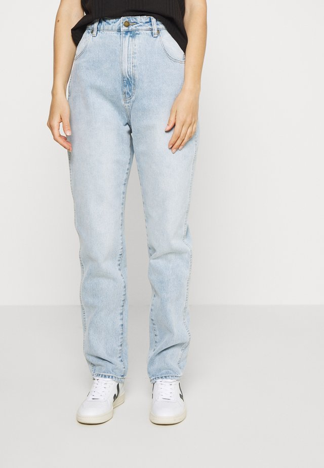 Jeans a sigaretta - light-blue denim