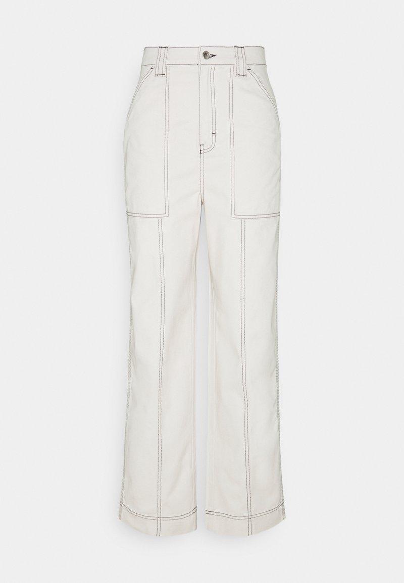 Weekday - GWYNETH TROUSER - Trousers - cream