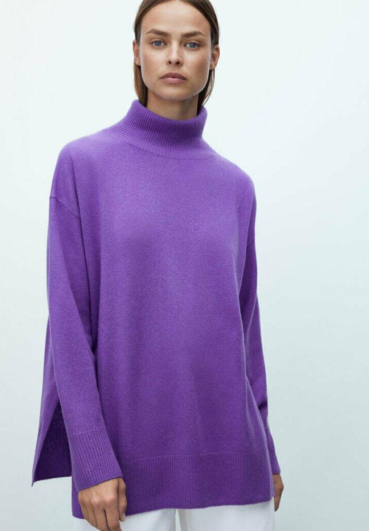Massimo Dutti - Jumper - dark purple