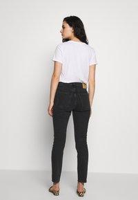 American Vintage - YOPDAY - Straight leg jeans - black denim - 2