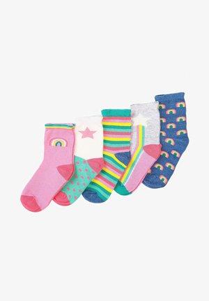 PACK OF 5 - Socks - multi coloured
